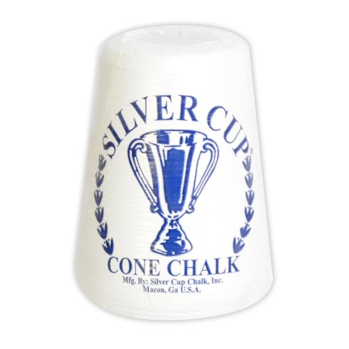For Sale! Hathaway Silver Cup Cone Talc Chalk, White
