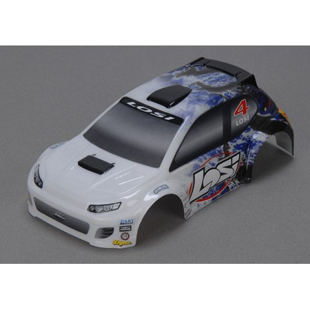 1/24 4WD Rally Painted Body, Blue - 1