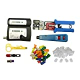 Soho Network Tester and Tool Kit, 8 Pieces ~ cable