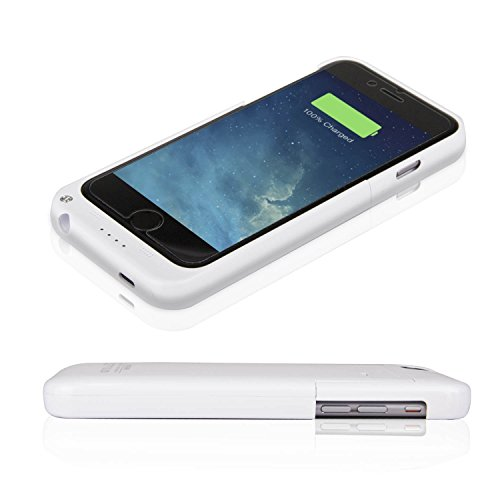 Ultra ? Edition White 3200mah Iphone 6 6s slim thin Power Bank Rechargeable charger case cover external battery backup i6 4.7