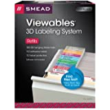 Smead Viewables® Labeling System, Refill Pack, Hanging Folder Labels, Ink-Jet and Laser Printers (64910)