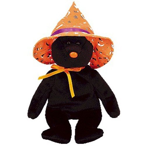 Ty Beanie Babies Pocus - Halloween Bear (BBOM October 2005)