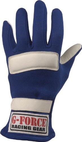 G-Force 4100CMDBU G1 Blue Child Medium Junior Racing Gloves