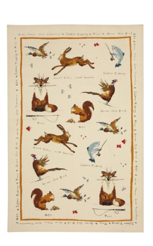 Ulster Weavers Ann Edwards Country Life Cotton Tea Towel
