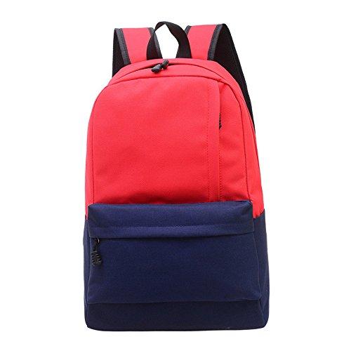 besporter-zaino-scuola-borse-semplice-fashion-kanpsack-sensazione-di-freschezza-rosso-redblue