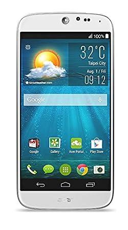 Acer Liquid Jade Smartphone USB/Wi-Fi/Bluetooth Android 4.1 Jelly Bean 8 Go Blanc