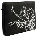 "Laurex 17"" Neoprene Notebook/Laptop Sleeve Case - Black Orchid"