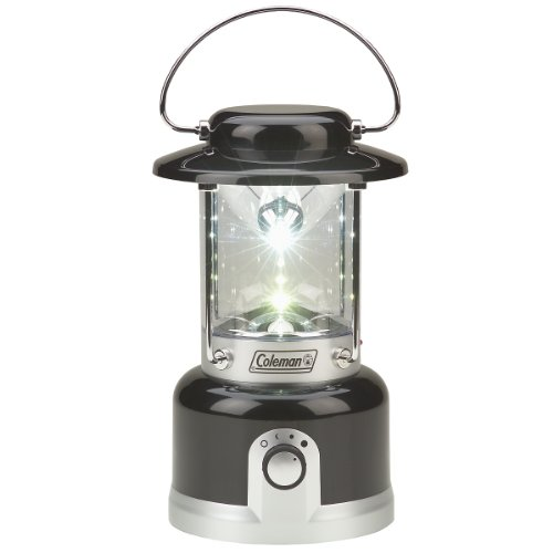 Coleman Led Rechargeable Lantern Uk - Black/Silver