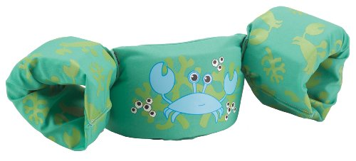 Stearns Puddle Jumper Deluxe Life Jacket, Crab, 30 to 50 Pound