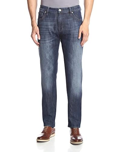 34 Heritage Men's Courage Mid Rise Straight Leg Jean