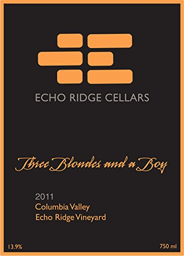 "2011 Echo Ridge Cellars ""Three Blondes And A Boy"" Estate Bordeaux Red Blend 750 Ml"