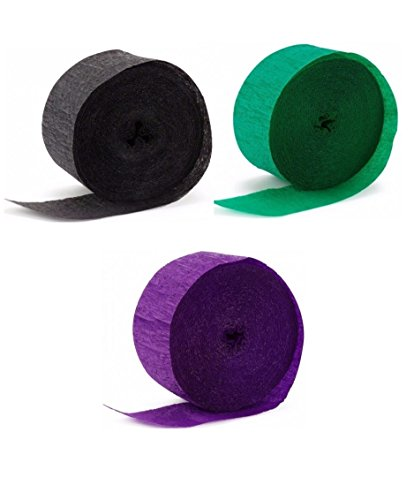 Hulk Coordinating Streamer Sets (3-pack) by Party Supplies (Party Streamers Pack compare prices)