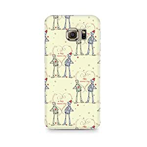 Ebby Robots with a Heart Premium Printed Case For Samsung S6 Edge G9250