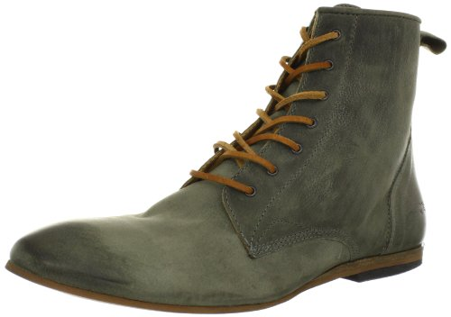 Moods of Norway Men's Molde Spring Leather Boot,Grey,40 EU/7-7.5 N US