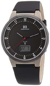 Danish Design Herren-Armbanduhr XL Analog - Digital Quarz Leder 3316317