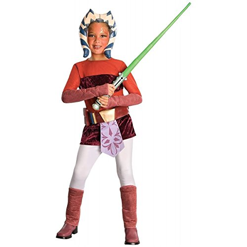 Baoer Star Wars Animated Ahsoka Halloween Costume Small Red