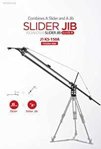 Konova Slider Jib Bundle A J1 K5 150A 59.1 Inch (Include K5 150cm Slider)