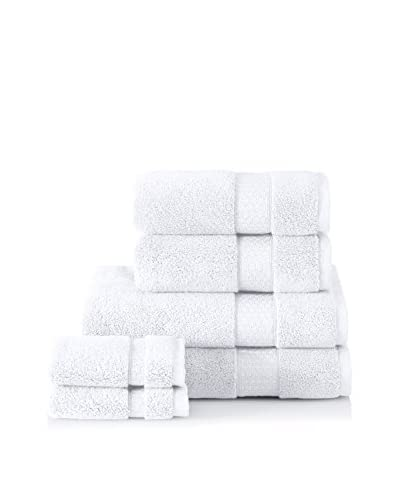 Interio by Schlossberg 6-Piece Towel Set, White