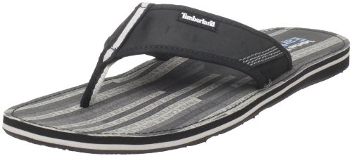 Timberland Men'S Earthkeepers Thong Sandal,Black,13 M Us front-929079