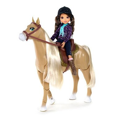 Moxie Girlz Horse Riding Club Sophina Doll and Horse