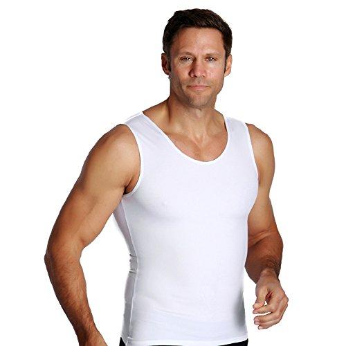 LEO Workout Vest Shapewear for Men - Compression Posture