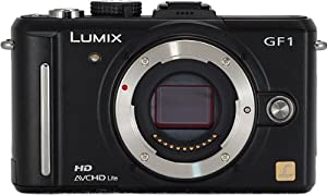Panasonic Lumix DMC-GF1 12.1MP Micro Four-Thirds Interchangeable Lens Digital Camera Body (Black)