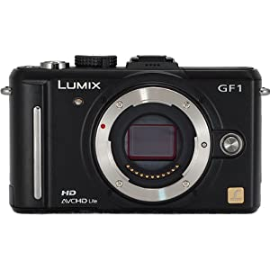 Panasonic Lumix DMC-GF1 Kit 12.1MP Micro Four-Thirds Interchangeable Lens Digital Camera (Black Body Kit)