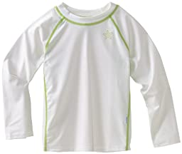 UPF 50+ Long Sleeve Rashguard by Iplay - White - 18 Mths