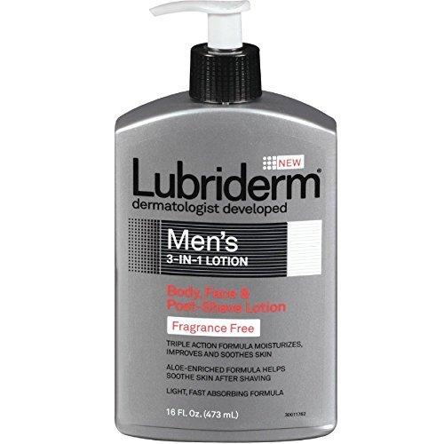 lubriderm-mens-3-in-1-body-face-post-shave-lotion-no-fragrance-16-oz-by-lubriderm