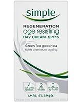 Simple Regeneration Age Resisting Day Cream SPF15 50 ml