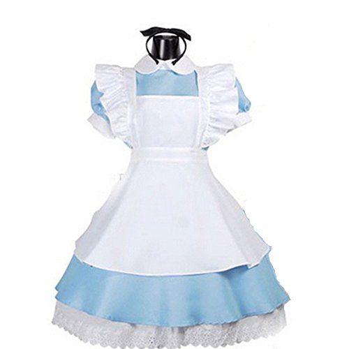 TAILUN Women Halloween Alice in Wonderland Costume Cosplay with Apron