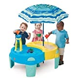 Toy / Game Wonderful Step2 Shady Oasis Sand And Water Play Table - For Hours Of Fun In The Sun (Ages