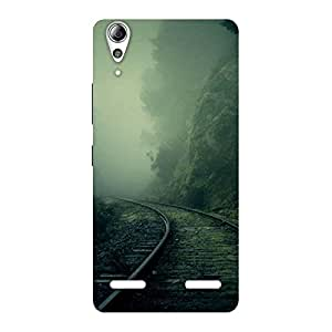 Cute Fog Track Back Case Cover for Lenovo A6000