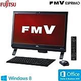 富士通 デスクトップパソコン FMV ESPRIMO(TVチューナー搭載モデル)(Office Home and Business 2013搭載) FMVF56MDP