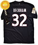 David Beckham #32 PSG Paris Saint Germain Home Soccer Jersey Shirt 2012-13 (M)