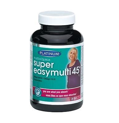 Platinum Naturals Super EasyMulti 45+ For Women MultiVitamin (60 capsules)