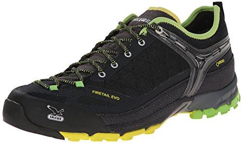 Salewa MS FIRETAIL EVO GTX 00-0000063312, Scarpe da trekking e escursionismo Uomo, Nero (Black/Emerald 906), 44