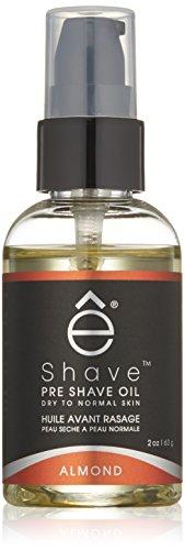 Eshave Pre Shave Oil, Almond, 2 Oz.