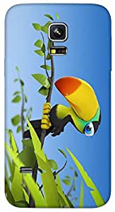 Timpax protective Armor Hard Bumper Back Case Cover. Multicolor printed on 3 Dimensional case with latest & finest graphic design art. Compatible with Samsung Galaxy S-5-Mini Design No : TDZ-24746