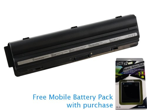 Dell XPS 15 (L501X) Battery 91Wh, 8400mAh with free Mobile Battery Pack