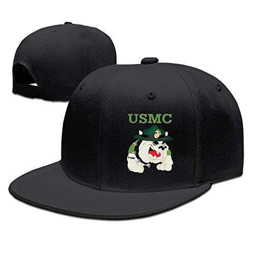 BAI XUE USMC Devil Dogs Baseball Hat Cap Black