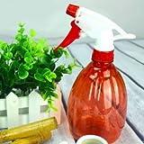 Red Plastic Garden Watering Can Pressure Sprayer Plant Watering Pot