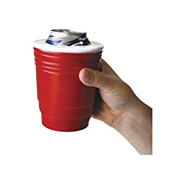 Red Cup Kool Kooler - Keeps Your Icey Drink Cold! Insulated Foam Can Holder