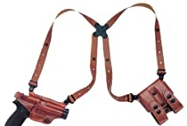 Galco Miami Classic Shoulder System for Glock 21, 20 (Tan, Right-hand)