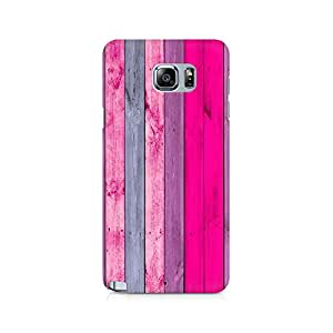 Motivatebox- Pink Wood Shade Premium Printed Case For Samsung Note 5 -Matte Polycarbonate 3D Hard case Mobile Cell Phone Protective BACK CASE COVER. Hard Shockproof Scratch-