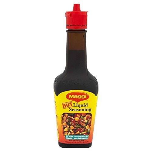 Maggi Hot flüssige Würzmittel (100 ml) - Packung mit 2
