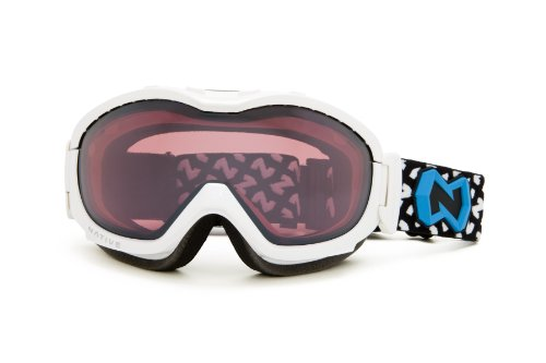 Native Eyewear Boomer Polarized Goggle (Chrome Reflex, Snow)