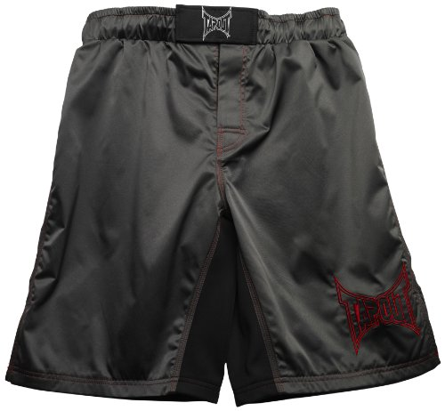 TapouT Fight Shorts, 32-Inch, Gray