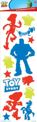 "Toy Story Glitter Sticker 4""X12"" Sheet- - 1"