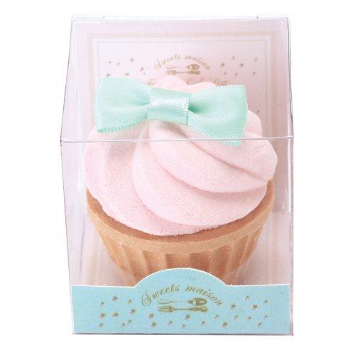 ノルコーポレーション お風呂用 芳香剤 おめかしカップケーキフィズ 60g ピーチムースの香り OBーSMMー14ー2